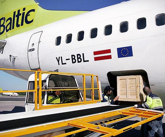 Avio kravu pārvadājumi uz āfriku