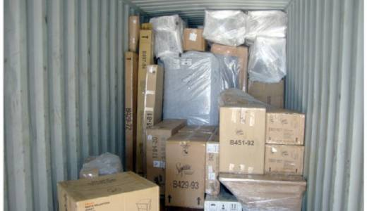 Moving personal belongings to the UK