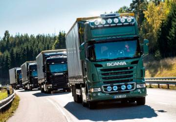 Truck platooning is the next step for sustainable road transport